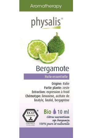 Bio olejek eteryczny BERGAMOTKA (Citrus Aurantium ssp. Bergamia) 10 ml