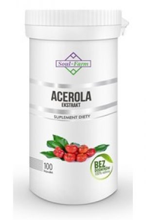 Acerola ekstrakt 600 mg 100 kaps.