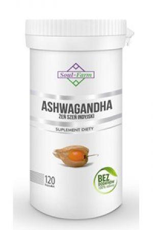 Ashwagandha ekstrakt 4:1 500 mg 120 kaps.