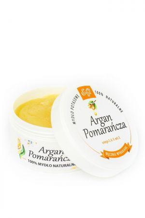 Mydło potasowe Argan Pomarańcza 80 g