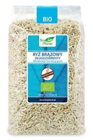 Ryż brązowy długoziarnisty BIO bezglutenowy 1 kg