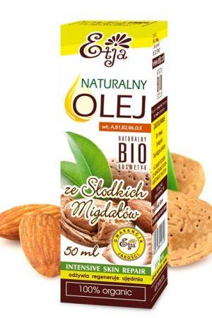 BIO Olej ze słodkich migdałów kosmetyczny 50 ml