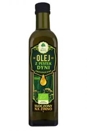 Olej z pestek dyni BIO tłoczony na zimno 100 ml