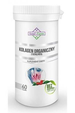 Kolagen organiczny z dziką różą 60 kaps.