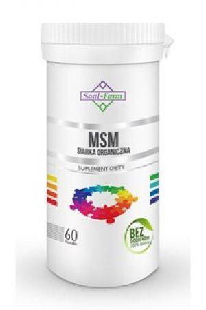 MSM siarka organiczna 650 mg 60 kaps.