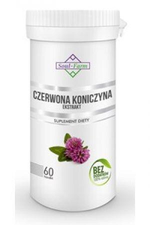 Czerwona  koniczyna ekstrakt 4:1 300 mg 60 kaps.