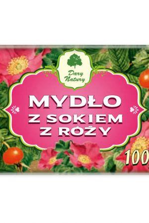 Mydło z sokiem z róży 100 g