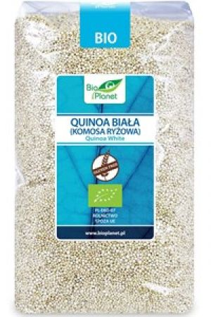 Quinoa (komosa ryżowa) biała BIO bezglutenowa 1kg