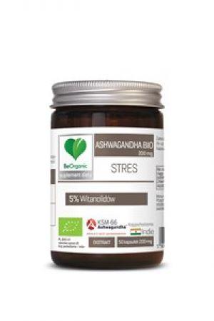 Ashwagandha ekstrakt KSM-66 BIO 200 mg 50 kaps.