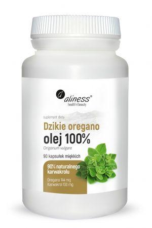 Dzikie Oregano olej 100% (90 kaps.)