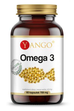 Omega 3 - 500 mg 35% EPA 25% DHA (60 kaps.)