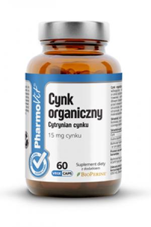 Cynk organiczny - cytrynian cynku 60 kaps.