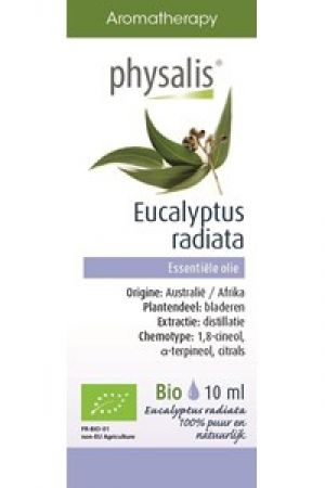 Bio olejek eteryczny EUKALIPTUS AUSTRALIJSKI (Eucalyptus Radiata) 10 ml